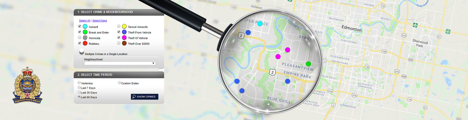 Crime Mapping & Stats